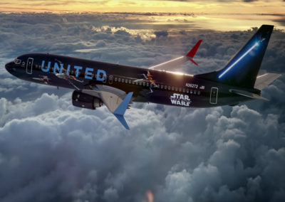 United Airlines / Star Wars